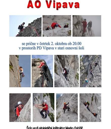 Plezalno alpinistična šola 2014/15