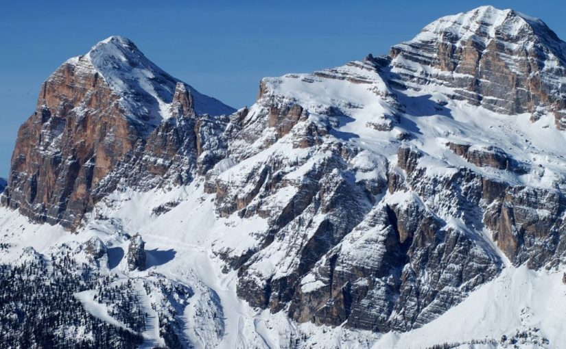 Tofana di Mezzo (3244m) & Tofana di Rozes (3225m)