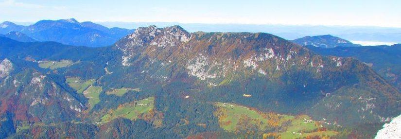 PD Vipava vabi na jesensko prečenje 5km dolgega grebena OLŠEVE z Govco v južnih Karavankah