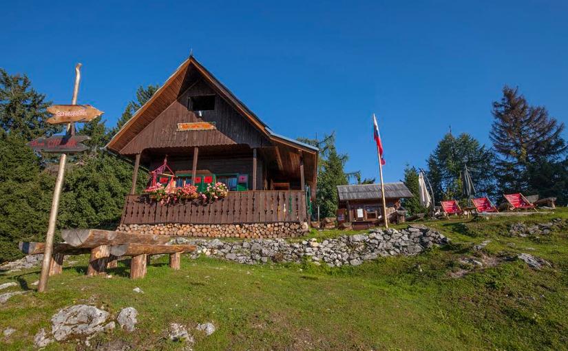 Mojčin dom na Vitrancu (1555 m)