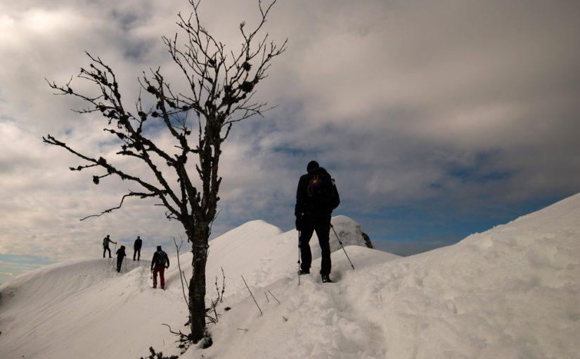 Na Tolstem vrhu in Kriški gori držali zimo za rep
