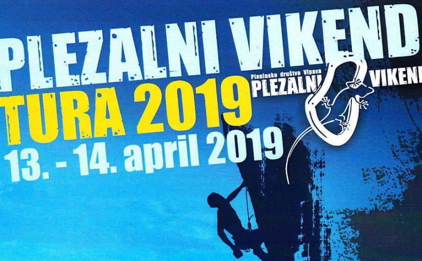 Vabilo na Plezalni vikend TURA 2019