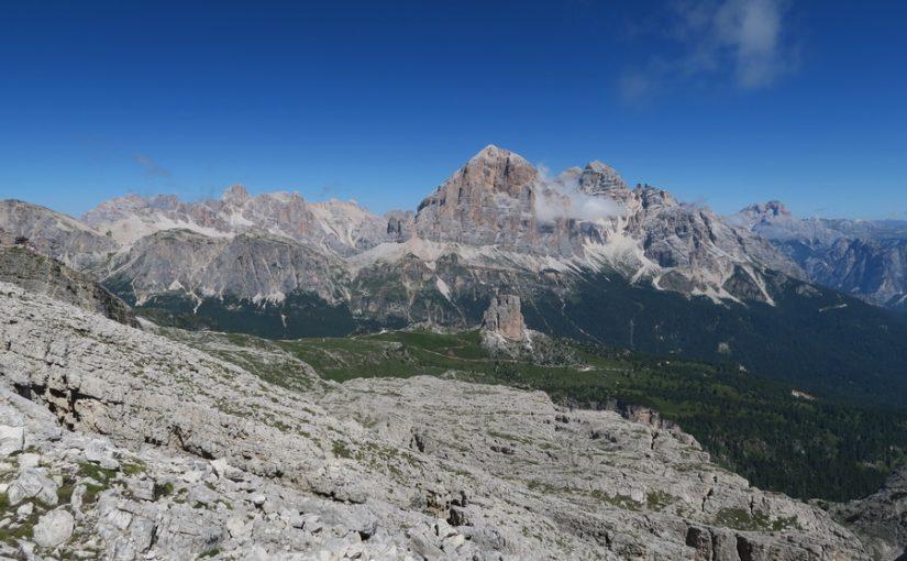 Plezanje v Dolomitih